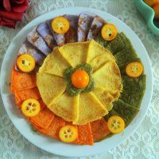 彩色系面饼