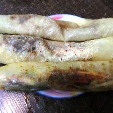 自制烤鸭卷饼