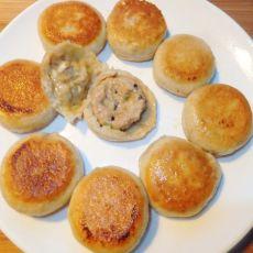 燕麦面小肉饼