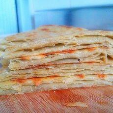 五香烫面粗粮饼的做法