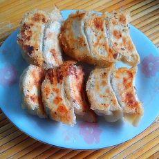 韭菜肉锅烙