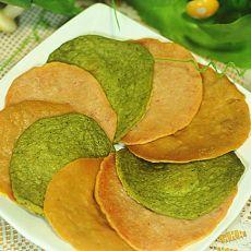 缤纷蔬菜饼