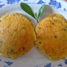 胡萝卜鸡蛋饼