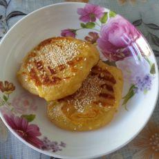 香甜芝麻玉米饼的做法