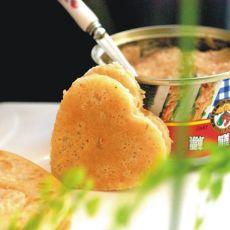 沙拉金枪鱼夹饼