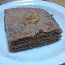 核桃豆渣五香酥饼