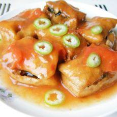 香椿酿豆腐