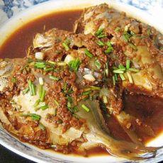 红腐乳酒酿烧鲳鱼