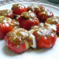 椒香酿肉的做法