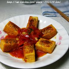 茄香酿豆腐