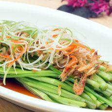 白灼水芹菜