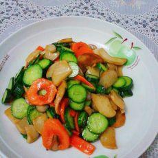 杏鲍菇黄瓜片