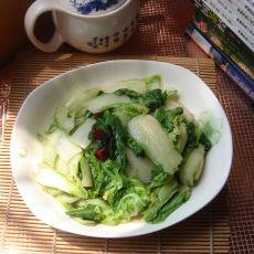 素烧奶白菜