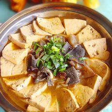 豆腐百叶麻辣锅的做法