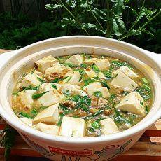 肉末烩豆腐