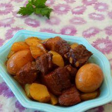 炖肉烩土豆