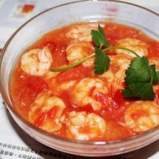 番茄烩虾仁