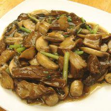口蘑烩素肉
