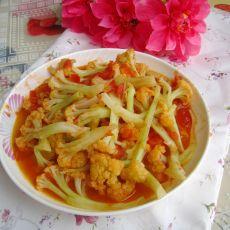 西红柿烩菜花