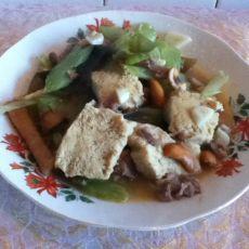 烧烩冻豆腐