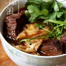 牛肉汤烩饼