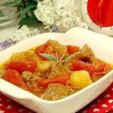 番茄土豆烩牛眼肉的做法