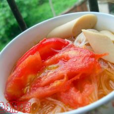 番茄火腿烩粉丝
