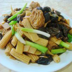 杂烩上海油面筋