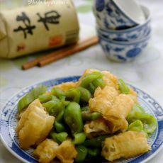 丝瓜烩油条――勾起无限回忆的菜