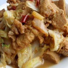 白菜烩松肉
