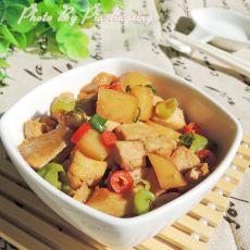 孜然土豆烩素鸡的做法