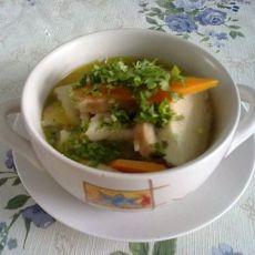 鸡汤烩锅饼