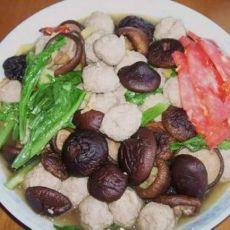 香菇烩丸子