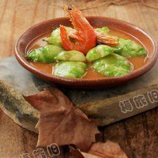虾烩儿菜的做法