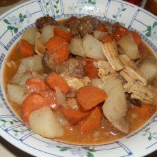 山药胡萝卜烩牛肉