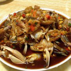 香辣腌螃蟹