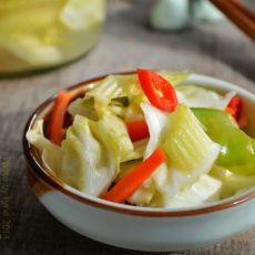 腌辣椒儿菜的做法