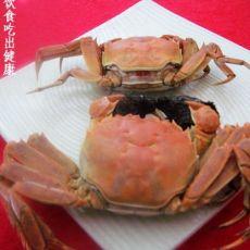 盐水大闸蟹的做法