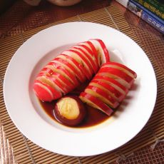 酱油腌水萝卜
