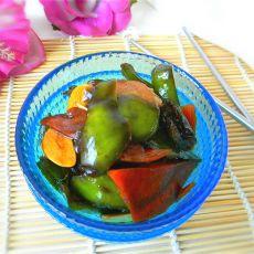 酱油酿胡萝卜尖椒的做法