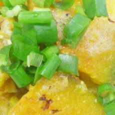 蛋黄�h南瓜的做法