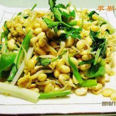 椒香炝黄豆芽