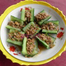 【原创】脆炝黄瓜卷的做法