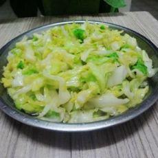 清炒包菜的做法