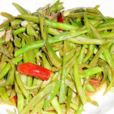 清炒四季豆的做法