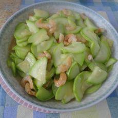 海米炒角瓜