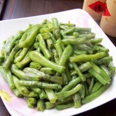 清炒豇豆的做法
