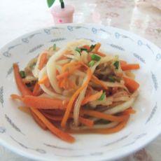 炒白菜三丝