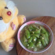 白油玉米炒丝瓜