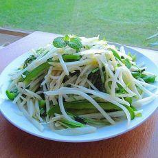 清炒土豆圆椒丝